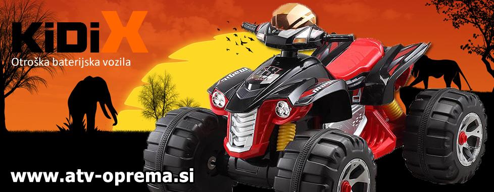 KIDIX - Otroška baterijska vozila