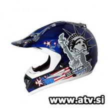 Čelada Boost B630 Liberty modra