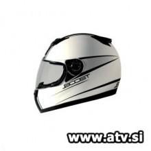Čelada Boost B530 Classic mat/bela/črna