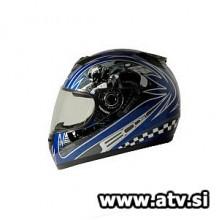Čelada Boost B530 Rider modra