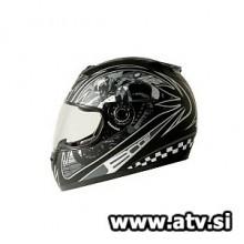 Čelada Boost B530 Rider mat/črna