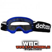 DATEX DEVIL MX - Otroška zaščitna očala - Modra