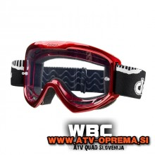 DATEX HELLRAISER MX Zaščitna očala - Rdeča