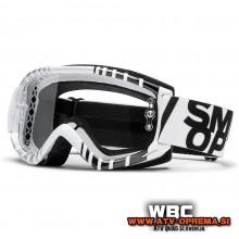 MX Zaščitna očala SMITH FUEL V.1 MAX - Bela