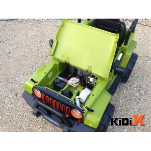 Kidix Jeep – Otroški avtomobil na baterije (ročno ali daljinsko upravljanje)