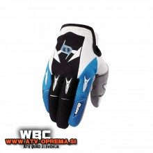 Rokavice MSR M9 Racing Renegade črna/modra