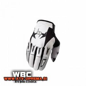 Rokavice MSR M9 Racing Renegade črna/bela