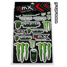 Nalepke Monster - Veliki SET