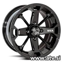 MSA M17 Elixir Black 12x7 4+3 4x110