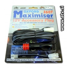 12V Avto adapter  MAXIMISER 360 T